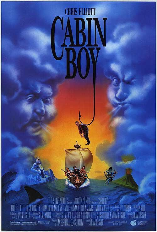 🎬MOVIE HISTORY: 27 years ago today, January 7, 1994, the movie 'Cabin Boy' opened in theaters!  #ChrisElliott @AndyRichter #DavidLetterman #MikeStarr #JimCummings #BrionJames #BrianDoyleMurray #RitchBrinkley #MeloraWalters #RussTamblyn #BobElliott