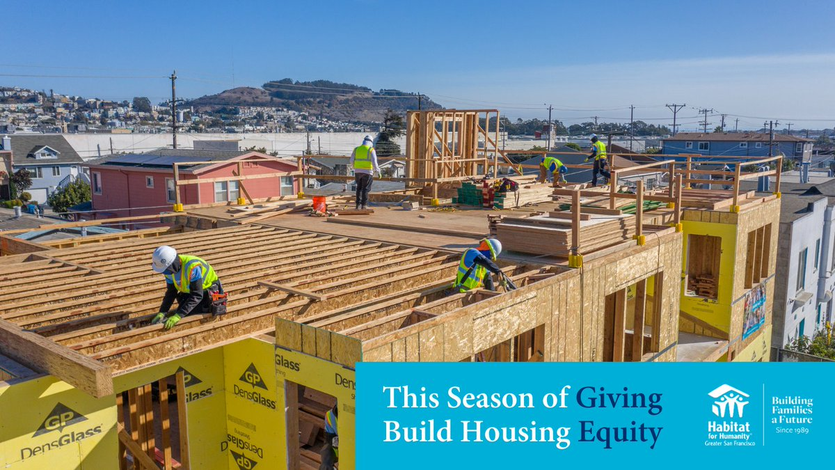 Thank you to the individuals in our community who donated this season of giving! 🙏 Together, we raised $700,000 to build & sustain affordable home ownership in our region.   During this incredibly unique holiday season, we're so grateful to our generous and loyal supporters! https://t.co/4ia8s47bsD
