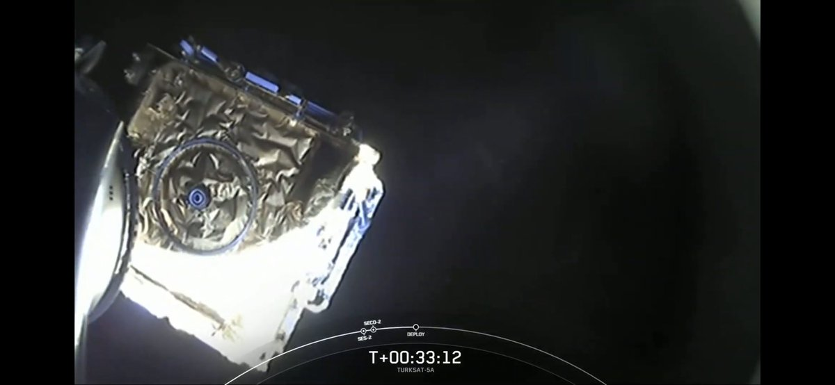 @SpaceX First deployment of a satellite for Spacex this year! Congrats to SpaceX and go Turksat5a