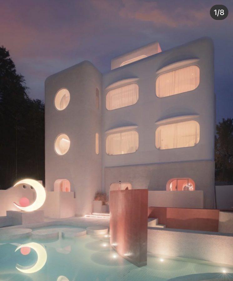 ええ、、、上海ディズニーランド近くにあるセーラームーンをイメージしたホテル。。。可愛すぎだろ、、、ほんとにあるんか、、、?(あるらしい)