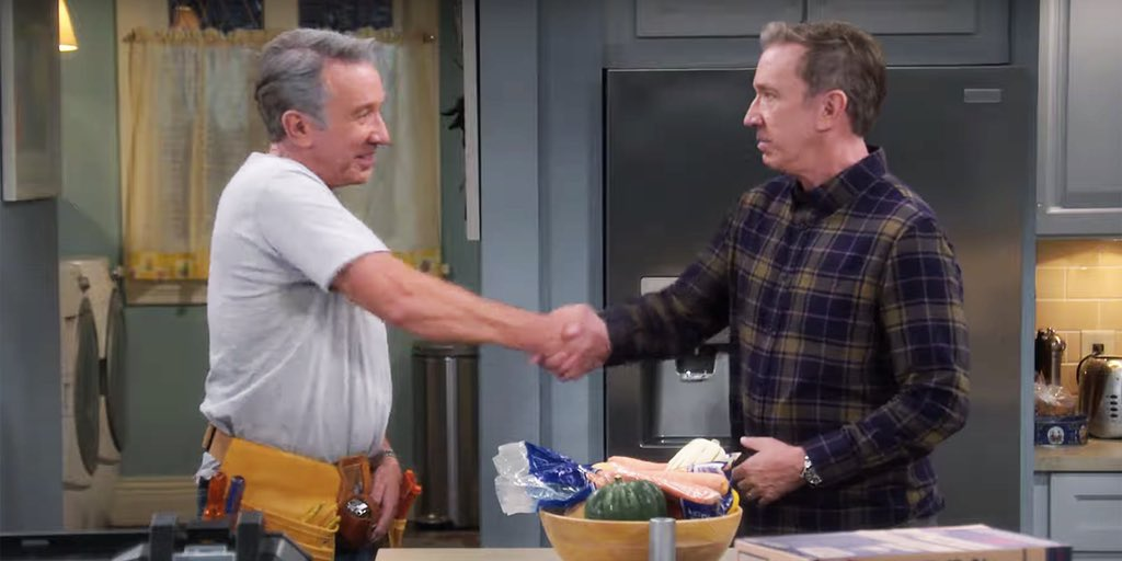 """MCU Fans: Spider-Man 3 is the most ambitious, universe building cross-over ever.  #LastMenStanding: """"hold my Binford 6100 circular saw."""""""