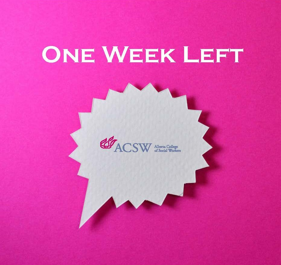 One week left to get your nominations in for the 2020 Awards! Click here to learn more about the available awards and how to nominate outstanding social workers by January 22, 2021: bit.ly/37G1QQx