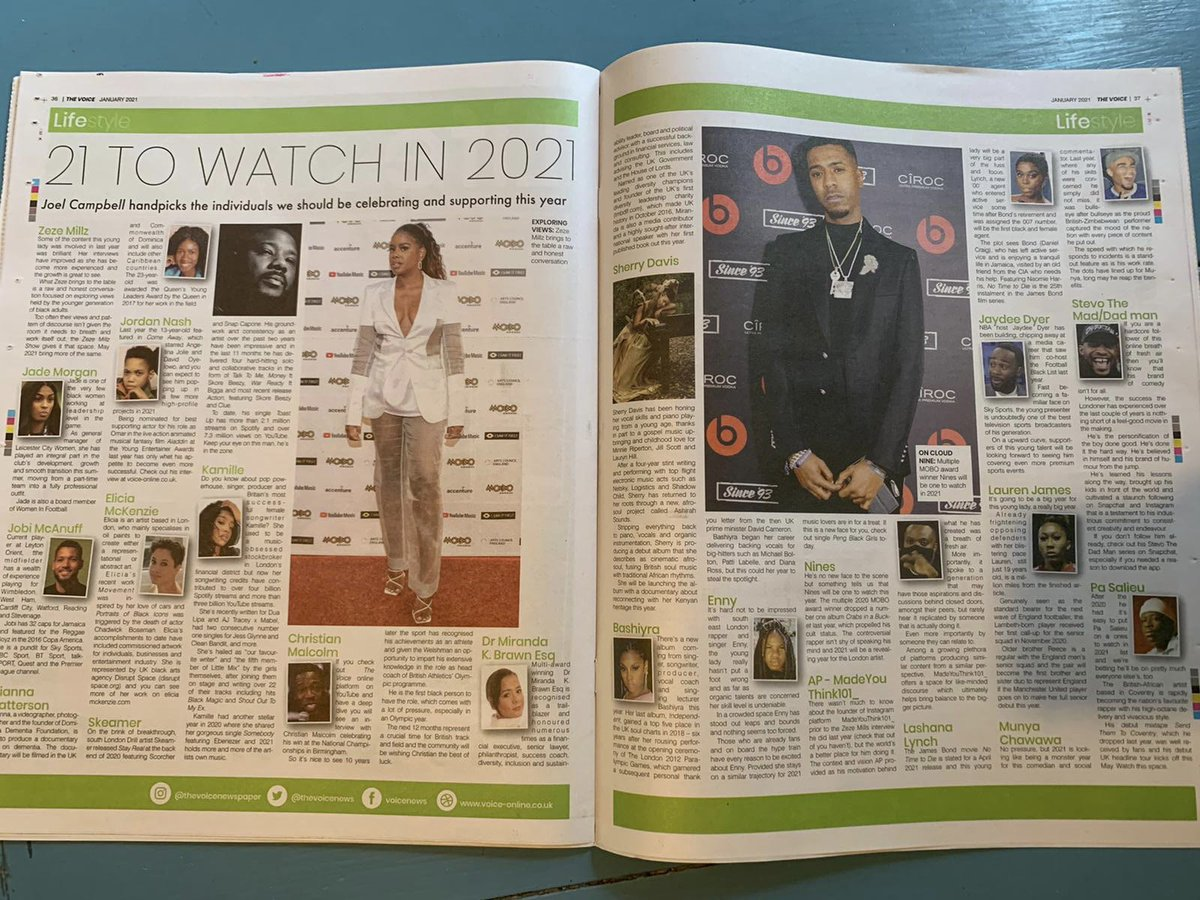 Massive Congratulations to @J_Dyer_Official for being included on @TheVoiceNews 'Ones To Watch' list.  👏👏👏