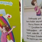 Image for the Tweet beginning: ❗️❗️Turkey: Children's book 'Magical Rainbow'