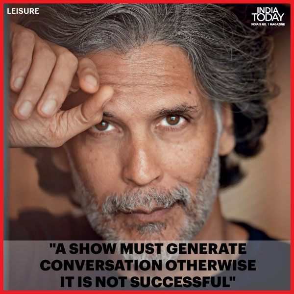 Click  to read #MilindSoman's views on the freedom of expression afforded by OTT platforms and a lot more.  #IndiaTodayMagazine #IndiaTodayInsights #Promo