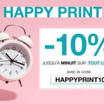 Image for the Tweet beginning: ⚡ Aujourd'hui seulement : -10%