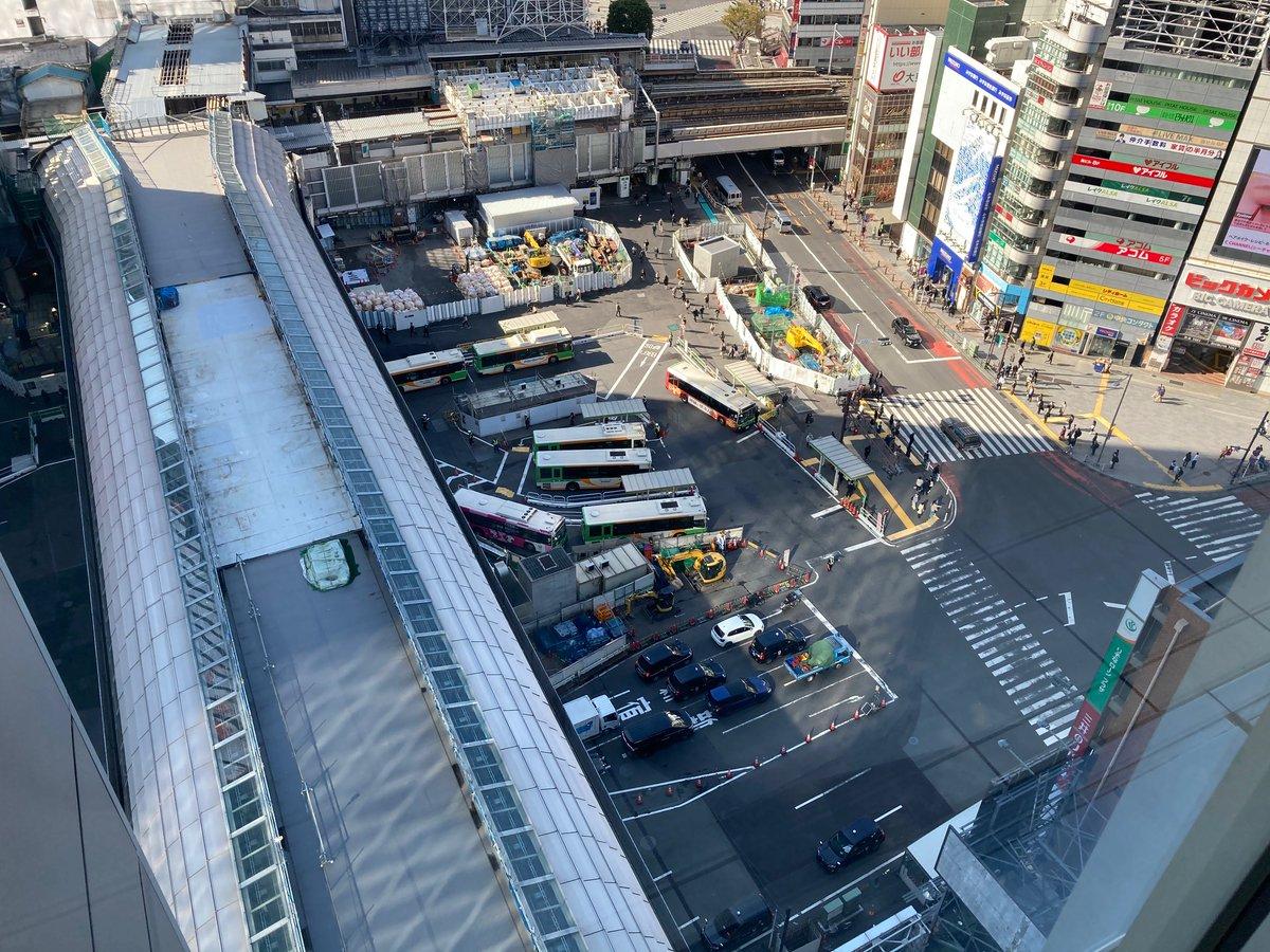Shibuya from above🙂 #Shibuya
