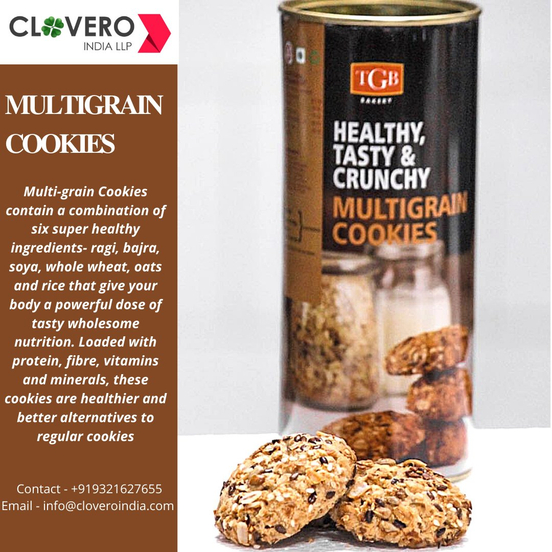 Offering you a wide range of Delicious Cookies in (TIN & BOX Packaging)   Contact - +919321627655 Email id - info@cloveroindia.com  #diwali2020 #hampers #cookies #exportimport #comingsoon #tasty #crunchy #deliciouscookies #bakeryproducts #readytoeatproducts #foodie