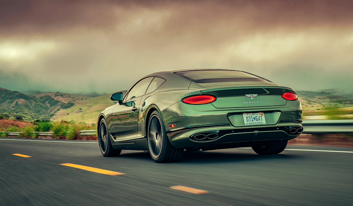 The car before the storm. The #ContinentalGT V8. Configure yours: