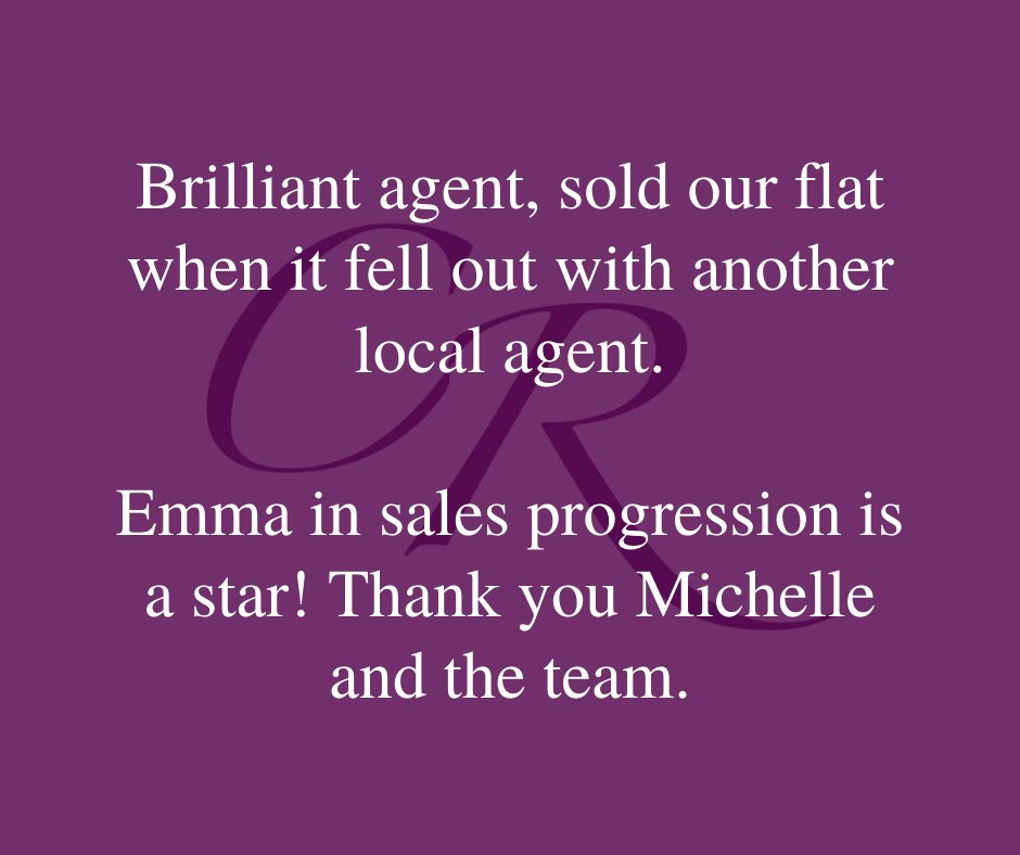 Well done to our wonderful Emma Leach for the great sales progression work you do!  #estateagentreview #salesprogression #amazingstaff #estateagent #cheltenham #buyinghomes #sellinghomes