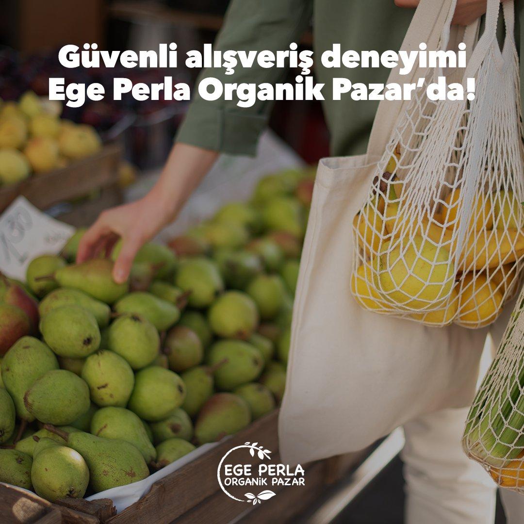 Her Perşembe ve Cuma günü yaptığınız kısa yürüyüşleri Ege Perla'da bulunan Organik Pazar'a uğrayarak tamamlayabilirsiniz. Taze, organik ve güvenli alışveriş deneyimini Ege Perla'da yaşayın.  #işgyo #isgyo #egeperla #izmir #alışverişdeneyimi #sağlık #hijyenik #organikpazar https://t.co/muppopDtpR