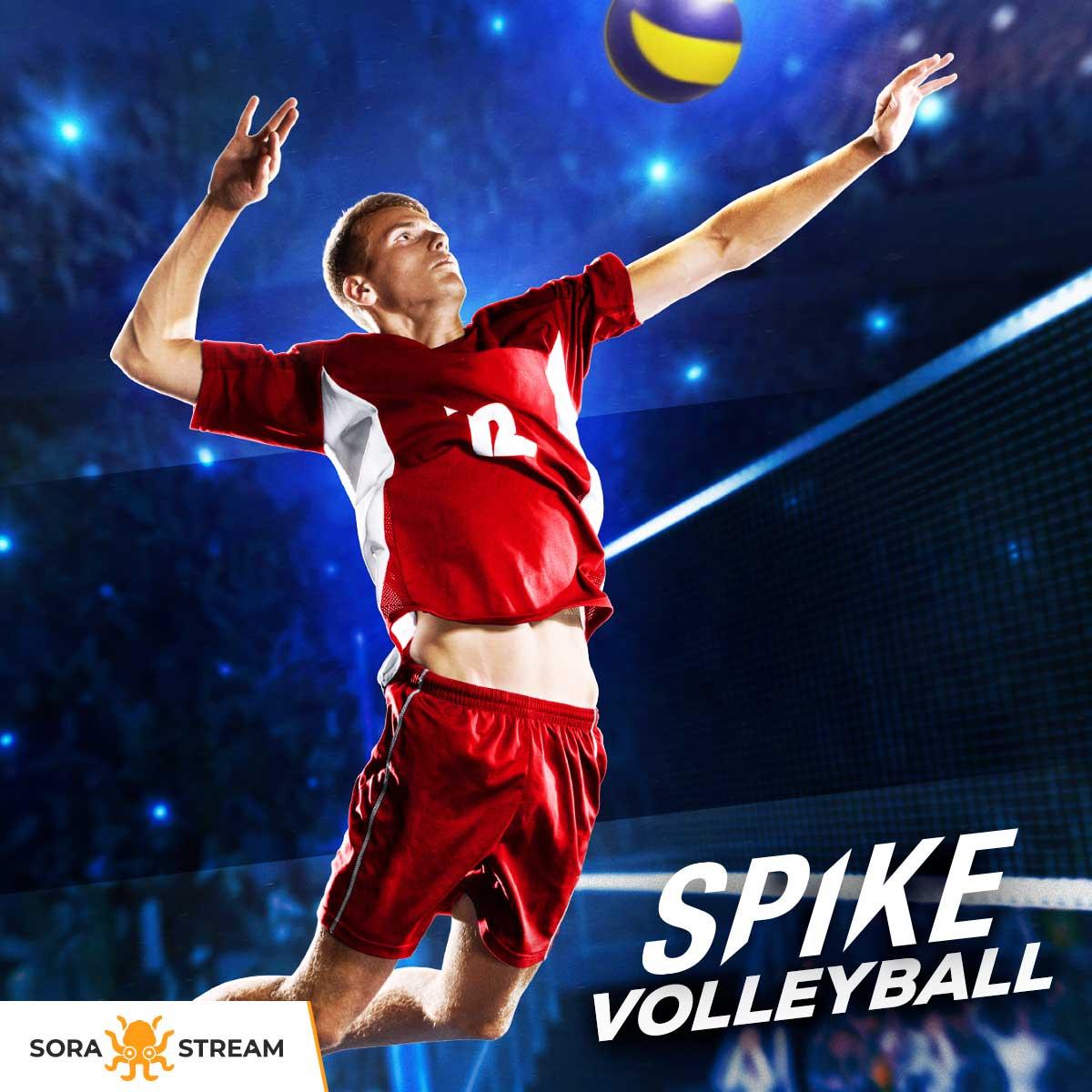 Escoge entre las 50 #selecciones nacionales o crea tu equipo de ensueño en Spike Volleyball, el juego que te trasmitirá la #intensidad de cada #partido. Ahora que el balón está en tu lado, vuela alto hasta la cima 🏐🔝 Cuando quieras jugar... ¡Sora Stream!