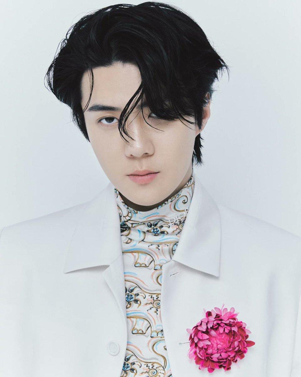 [AGENCY TEO] 210108 Yoon Ji Yong Website Official.  SEHUN for DIOR Men Fall 2021       #EXO #SEHUN #세훈 #오세훈  @weareoneEXO @exoonearewe