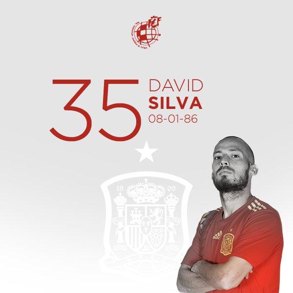 """🎂 ¡¡Feliz cumpleaños, @21LVA!!  🧙🏻♂️ El """"Mago"""" de Arguineguín, campeón del mundo, doble campeón de Europa y con 125 partidos con la @SeFutbol en su bagaje, cumple 35 años.  🥳 ¡¡FELICIDADES, DAVID!!"""