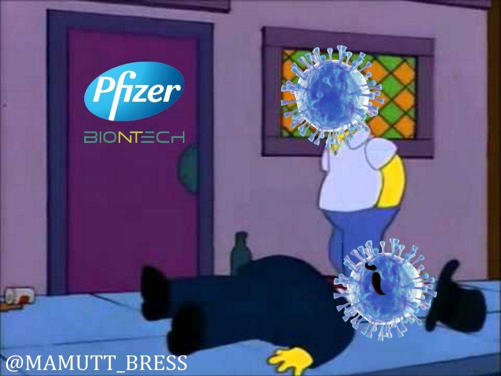 Pfizer y BioNtech confirman la eficacia de la vacuna contra la nueva cepa de #COVID19. #VacunaCOVID19 #PfizerBioNTech #BuenViernes