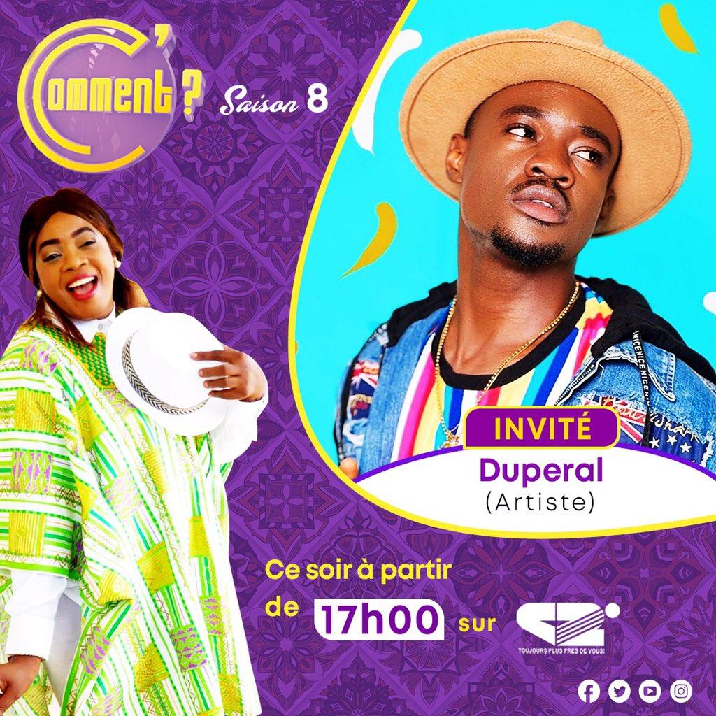 """C'est compliqué Média tour #Douala Duperal sera en direct dans quelques minutes sur Canal2 International  sur le plateau de Ccomment  """"C'est compliqué"""" est là👇🏿 👇🏿 👇🏿     #duperal #venusmusic #team237 #douala #yaounde #cameroun #sweetfm #moov237"""