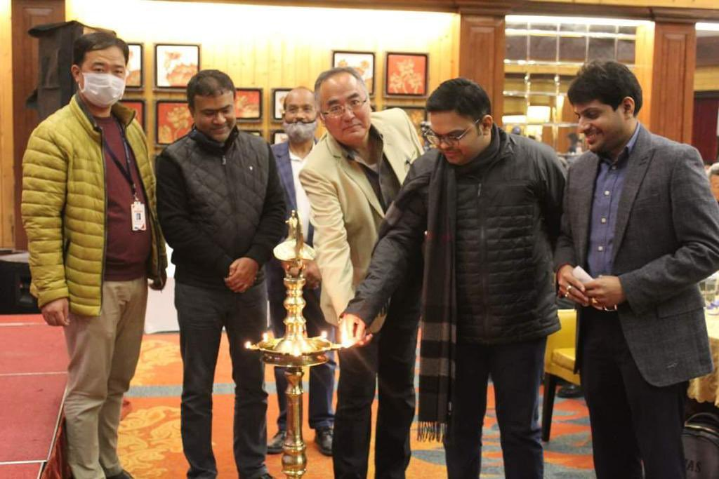Humbled and honoured to visit both Arunachal Pradesh and Sikkim. Assured all North-Eastern states of @BCCI's support to enhance capacity building, cricketing infrastructure, NCA coaches and technical staff, training methodologies & medical facilities. We are in this together 🇮🇳