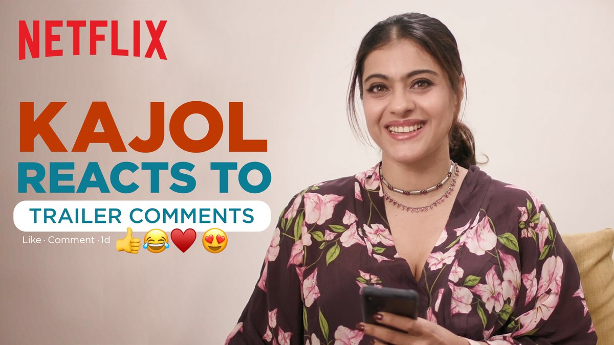 *Does a happy dance while watching @itsKajolD reacting to comments on the #Tribhanga trailer.*  @mipalkar @renukash @ikunaalroykapur @Meena_Iyer @ajaydevgn @ADFFilms @Banijayasia @deepak30000 @NegiR @AlchemyFilms @sidpmalhotra @ParagDesai @KumarMangat