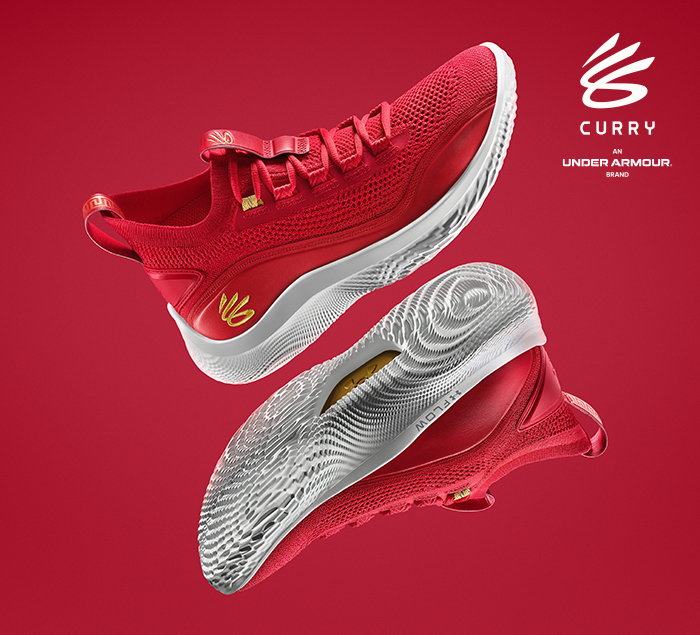 Light up the New Year. #Curry 8 Flow 'CNY' is now available in men's & kids sizes.  Shop: