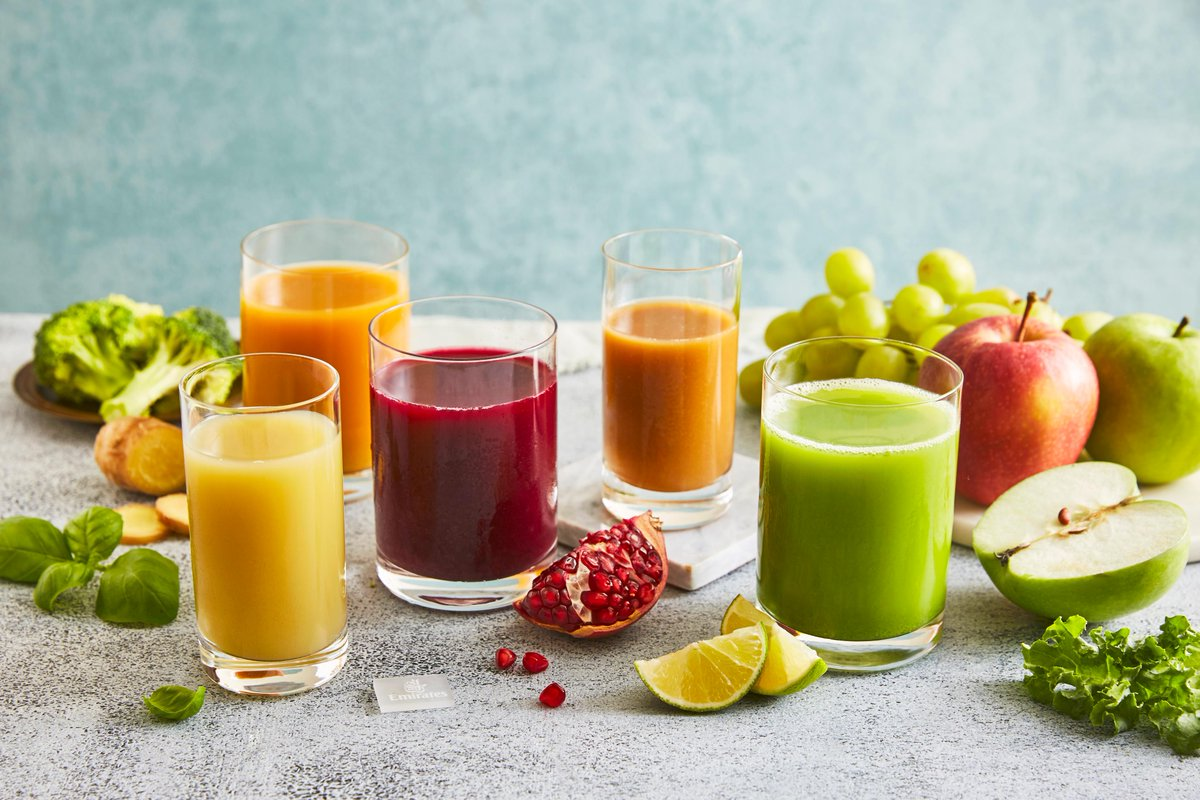 Kick start your year with our vegan Vitality Boost drinks created by our in-house dieticians. The nutrient-rich drinks use a combination of natural ingredients and are served in First and Business Class.  #Veganuary #FlyEmiratesFlyBetter
