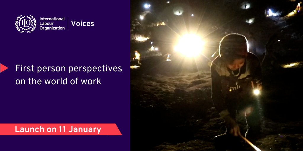 A new year brings a new ILO multimedia platform!   'Voices' launches on Monday focusing on first-person stories taking readers on a journey into the #worldofwork in addition to a range of other exciting features.  Read more: