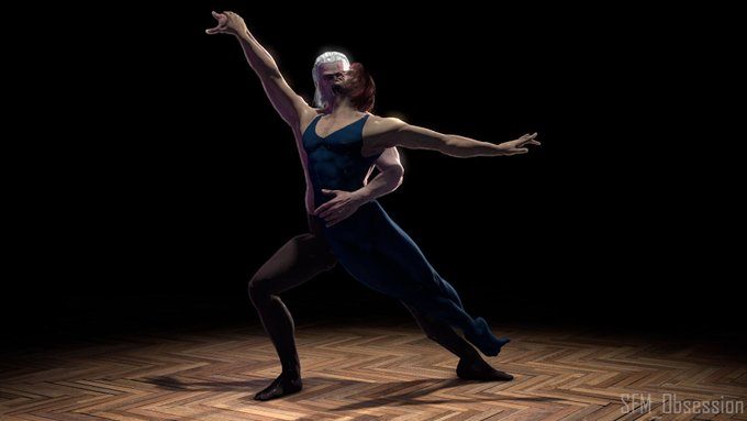 3 pic. Ballet AU~  #gerlion #geraskier https://t.co/NpxxzSkBuw