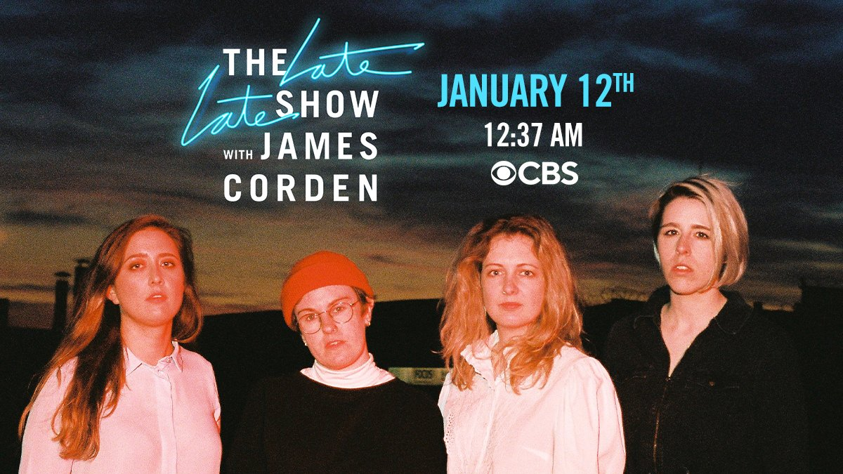 We are beyond excited to announce that we'll be making our US Television debut performing on The Late Late Show with James Corden on January 12th. Somehow, this isn't a joke? Big week for the PQs!  @latelateshow @JKCorden #LateLateShow #what