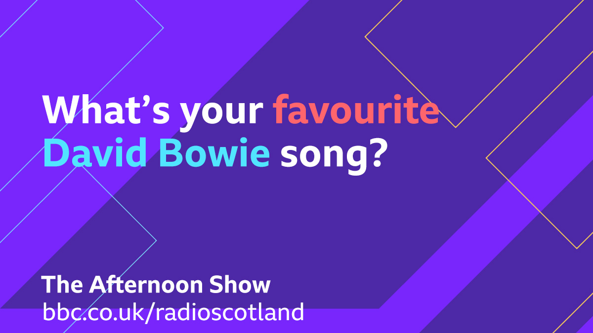 Today marks the late David Bowie's birthday.  We're looking for your favourite Bowie track for Topical Tune, let us know what is and why you're choosing it👇  Join us for #TheAfternoonShow from 2pm.  🔈