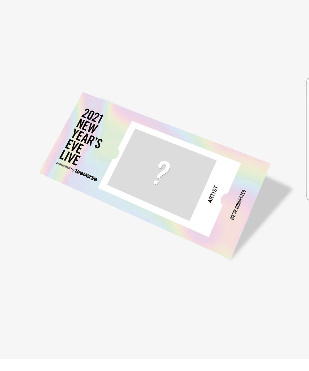 #WEVE_CONNECTED  2021 NEW YEAR'S EVE LIVE  😍 บัตรคอน 2ใบ       500 รวมส่ง/ใบ 💜 Bangtan 💙 Enhypen  💜 รับมัดจำได้ค่ะ  📩สนใจเมนชั่น/ DM ได้เลยค่า  #ตลาดนัดรถไฟบังทัน #ตลาดนัดบังทัน #หารคอนบังทัน  #ตลาดนัดENHYPEN