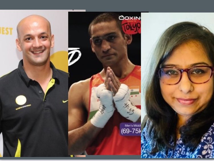 7pm & 10pm tonight #PeoplesEditor -#Covid challenge to India's #Olympic dreams with @virenrasquinha @boxerachaudhary & @udita_scorpio77 Good to hear about support provided to 🇮🇳athletes amid pandemic!  @OGQ_India @Media_SAI @Kirenrijiju #PlayForIndia #LetsStickTogether @mukhia_ji