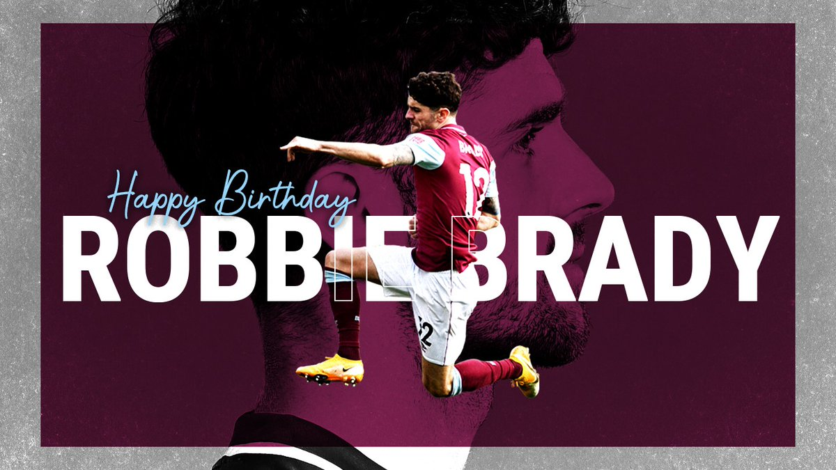 Happy birthday, Robbie 🥳✨   #UTC
