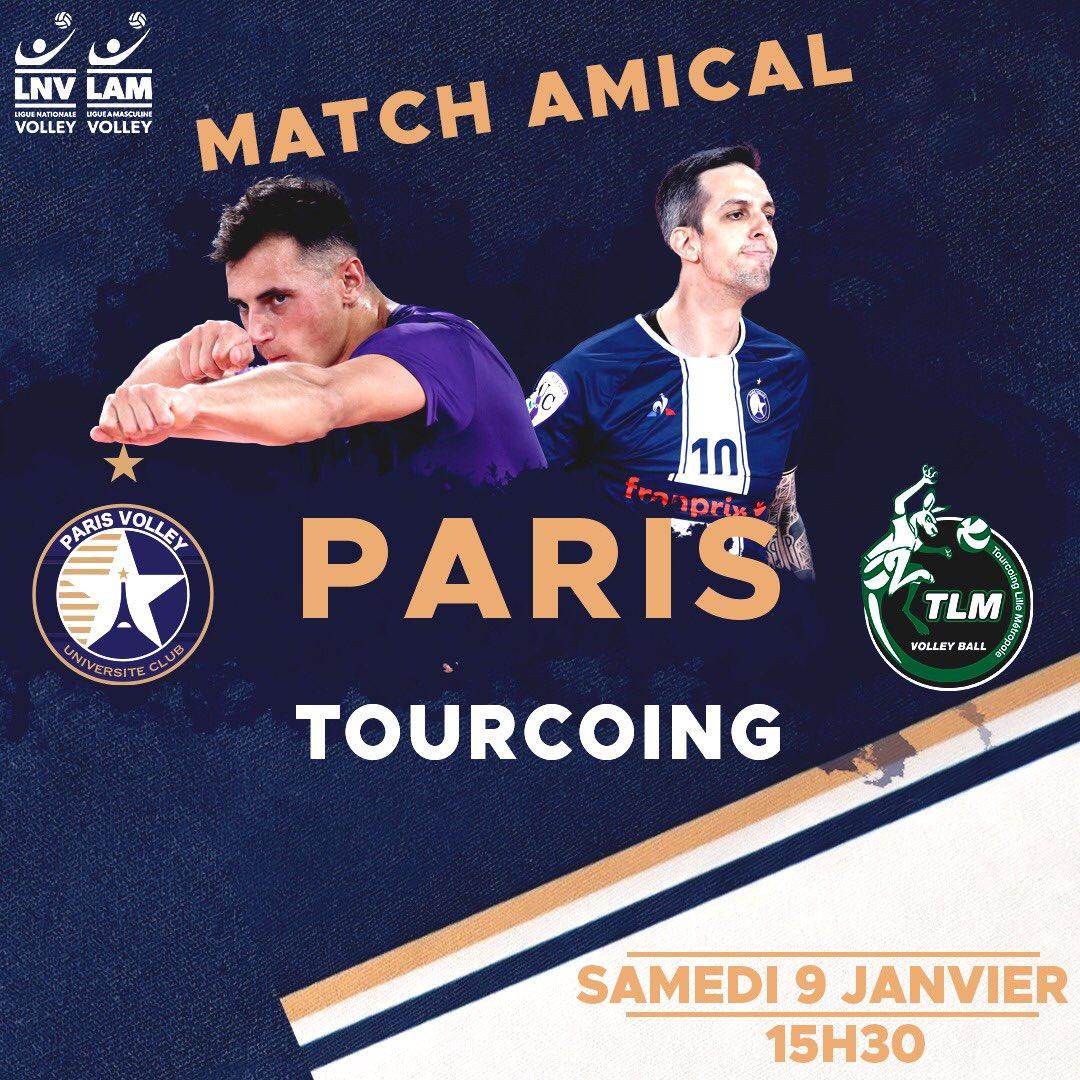 Volley - Ligue A (H) - Expéditif face à Poitiers, Tourcoing rejoint Cannes en tête de la Ligue A