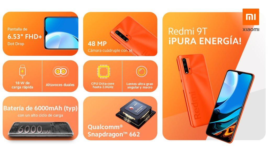 Redmi 9T, el gama baja que presume de especificaciones por tan solo 159€