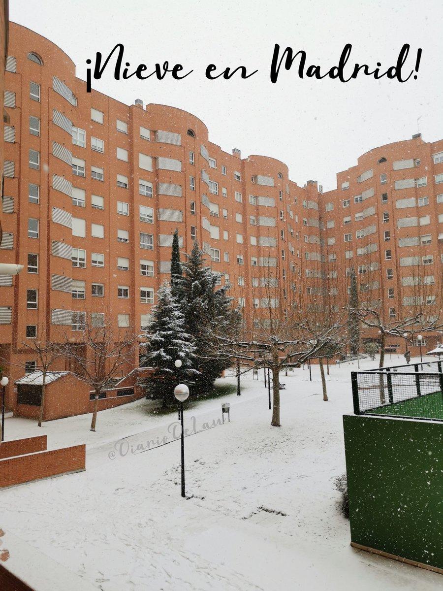 Nieve en Madrid ❄️☃️❄️  ___ #ViernesÉpicoEnLaOfi #Filomena #madrid #españa #spain #nievemadrid #nieve #snow