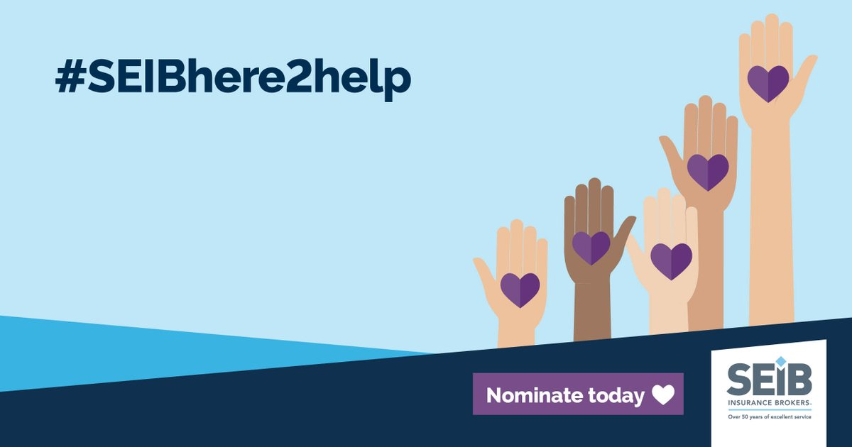 £10,000 could really make a difference to the work we do. Your nomination could be the one that gets us into the final vote in the @SEIB_Insurance Brokers Charity Awards.   Our charity number: 1020419   Nominate us at    #SEIBHere2Help #fundraisingfriday