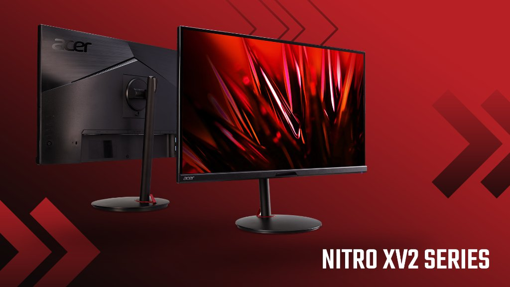 Believe your eyes. The brand-new Nitro XV2 Series has a: 👁 3840 x 2160 resolution 🚀 144 Hz refresh rate ⚡️ 1 ms response time Learn more at https://t.co/VIMutp2rVx https://t.co/dFJu3Lo8uj