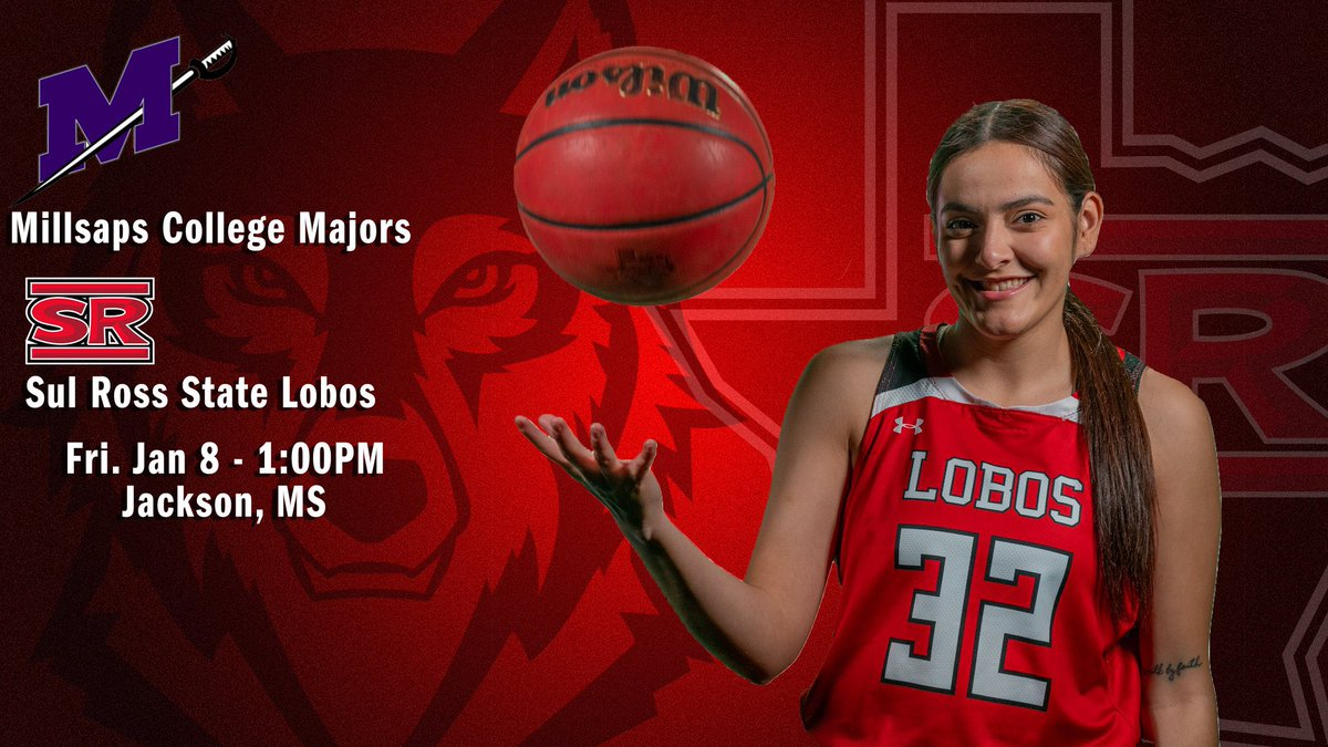 We got action today, Lobos! Basketball has just tipped off against Millsaps College!   #SRSU #ASChoops #d3hoops