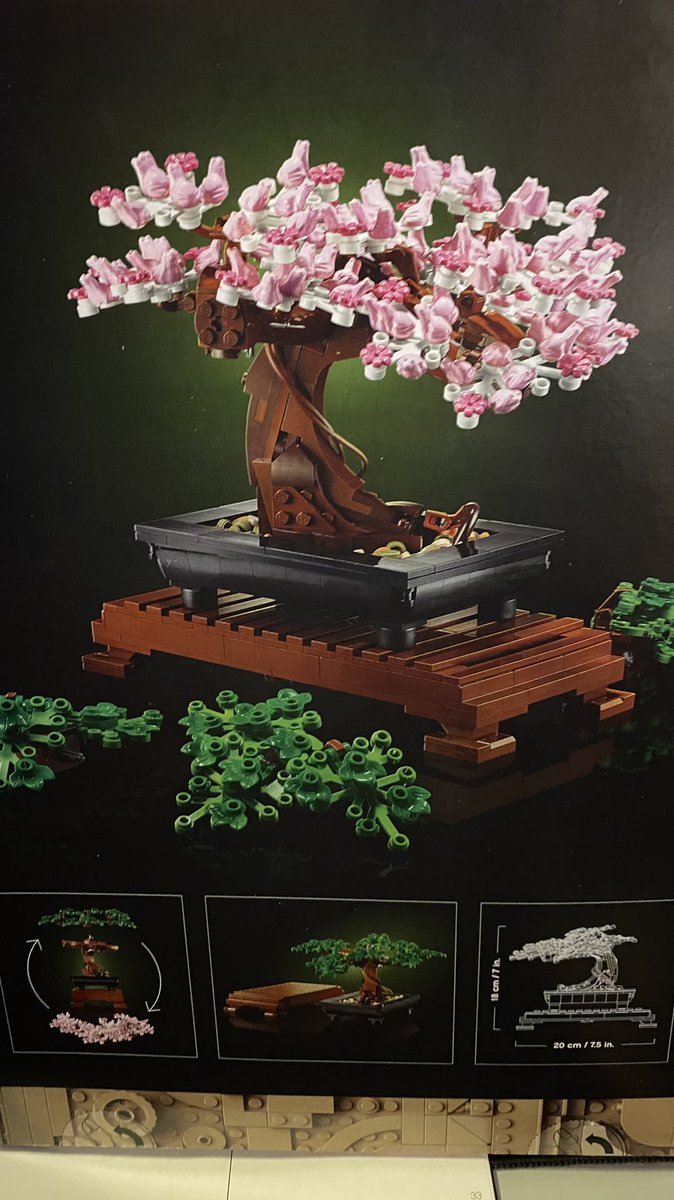 Mike Needs Coffee And Antihistamine On Twitter I Didn T Realize That The Lego Bonsai Set Used A Small Frog To Fill In For A Knot Of Wood And When I Looked At