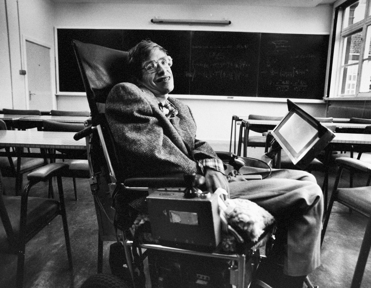 Doctors told Stephen Hawking that he had only 2 years to live when he was just 21. He died at the age of 76. Happy birthday to one of the greatest minds to ever live.