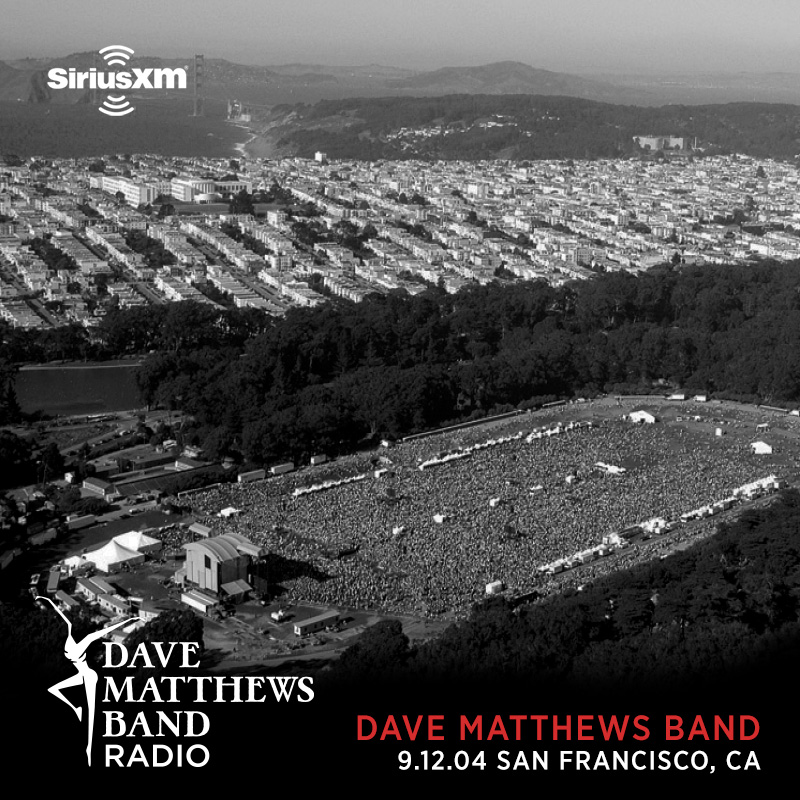 The Friday Night Concert Series continues TONIGHT, January 8th: tune in to @SIRIUSXM @davematthewsbnd Radio @ 8PM ET and listen to DMB live in San Francisco, CA on 9.12.04.  Encores: Sat 1/9 at 9am & 3pm ET; Sun 1/10 at 11am & 5pm ET; Mon 1/11 at 1am & 12pm ET; Tue 1/12 at 4pm ET