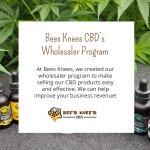At Bees Knees, we created our wholesaler program to make selling our #CBD products easy and effective. We can help improve your business revenue! #hempoilextract #cbdoil #cannabidiols #cbdhelps https://t.co/Ji6FPbvpoT