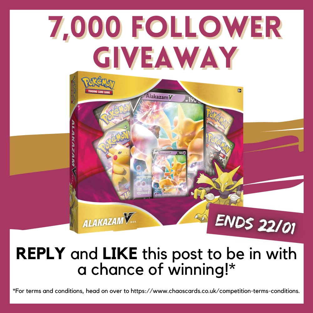 We got past 7000 followers on Twitter during December (when we were super busy!) but now we're happy to give our Twitter followers the chance to win something pretty cool!   To be in with a chance of winning all you have to do is REPLY and LIKE this post!  Thanks everyone! ❤️