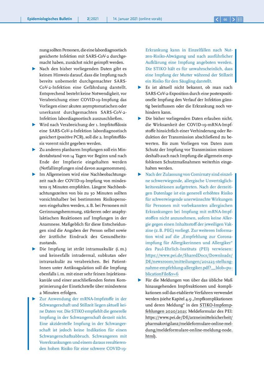 Robert Koch Institut On Twitter Fur Die Impfung Soll Einer Der Beiden Zugelassenen Mrna Impfstoffe Verwendet Werden Anlasslich Der Zulassung Fur Den 2 Mrna Impfstoff Hat Die Stiko Ihre Covid19 Impfempfehlung Aktualisiert Aktualisierte