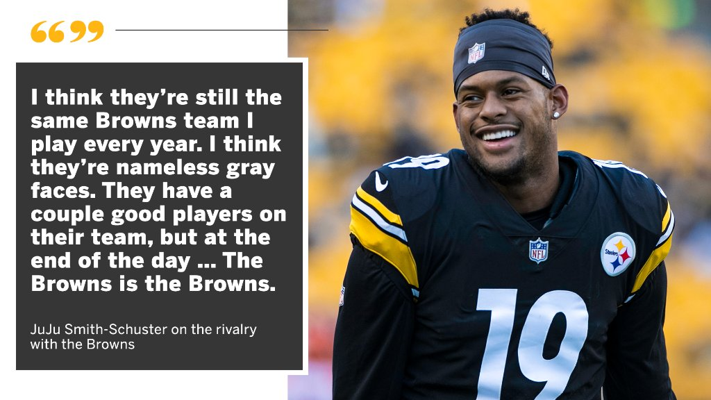 """SportsCenter on Twitter: """"JuJu says he's happy to be playing the Browns  Sunday.… """""""