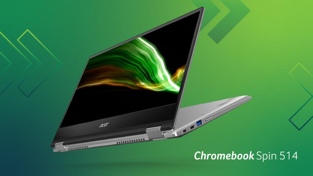 Unlocking the business-ready Chromebook Spin 514 with:  🔥 @AMD Ryzen™ 3000 C-Series Mobile Processors ✅ Chrome Enterprise Upgrade available 💪 Military-grade durability and convertible 360-degree hinges  Learn more at https://t.co/Xp0oCVBH9y. #NextAtAcer https://t.co/El67aQzSq4