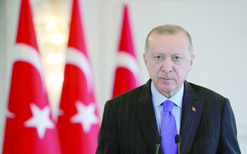 """اردوغان يشير لوجود """"إرهابيين"""" بين متظاهري جامعة في اسطنبول جريدة عمان"""