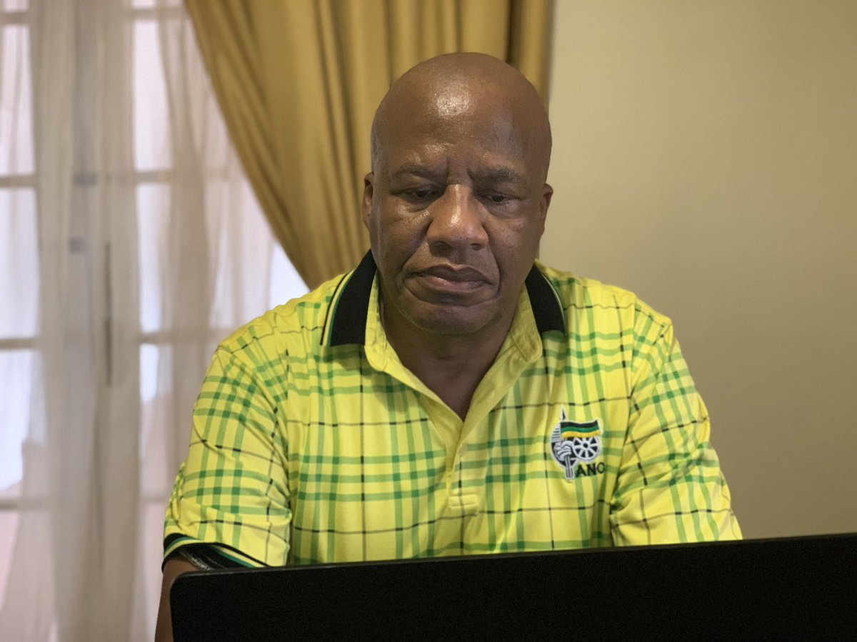 Today we are celebrating @MYANC #109thanniversary through a virtual platform because of the Covid 19 Pandemic .We are all keenly awaiting the #January8statement to be delivered, on behalf of the NEC , by the President of our glorious movement, comrade @CyrilRamaphosa .