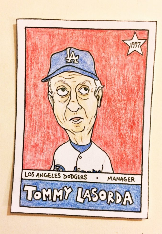 RIP, Tommy Lasorda  #Dodgers