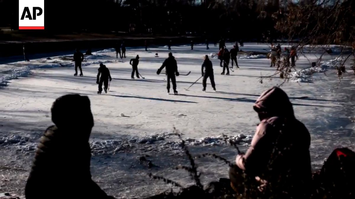 While in Alberta for NHL playoffs, took trips to Kingman and Sylvan Lake for this story on the future - or lack thereof - of pond hockey because of climate change: