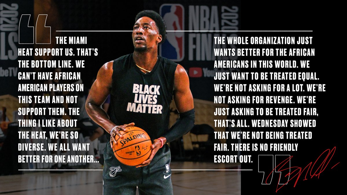 Replying to @MiamiHEAT: #BlackLivesStillMatter // #HEATCulture